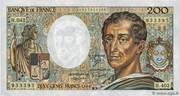 200 francs Montesquieu (type 1981, alphabets H.042, H.402, 101) – avers