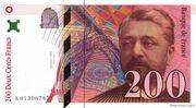 200 francs Eiffel (type 1995) -  avers