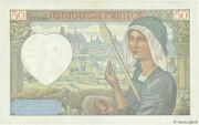 50 francs Jacques Coeur (type 1941) – revers