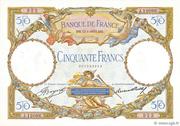 50 francs Luc Olivier Merson (type 1927 modifié) – avers