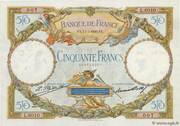 50 francs Luc Olivier Merson (type 1927) – avers