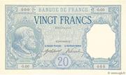 20 francs Bayard (type 1916) – avers