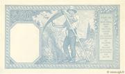 20 francs Bayard (type 1916) – revers