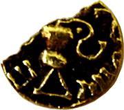 Trien ou sou d'or (mérovingien V-VIème siècle) – revers