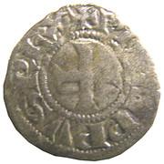 """Obole tournois (à l'O rond) - Philippe IV dit """"le Bel"""" – avers"""