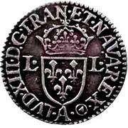 Douzain, frappé au moulin - Louis XIII -  avers