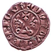 """Double Tournois - Philippe IV dit """"le Bel"""" -  revers"""