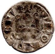 "Denier tournois (2ème type) - Philippe II dit ""Philippe-Auguste"" – revers"