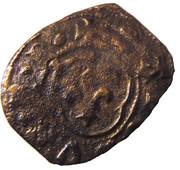 """Obole tournois - Charles VII dit """"Le Victorieux"""" – avers"""