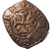 """Obole tournois - Charles VII dit """"Le Victorieux"""" – revers"""