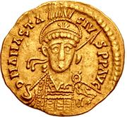 Solidus - Anastasius I (Pseudo-Imperial) – avers