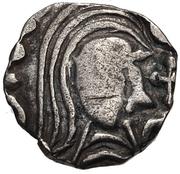 Denier - Anastasius I (Pseudo-Imperial) – avers
