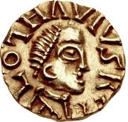 Tremissis - Clothaire III (Wandelenus, Paris) – avers