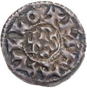 Denier - Charles II le Chauve (Melle) – revers