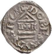 Denier - Lothair I (Dorestad) – revers