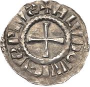 Denier - Louis IV the Child (Strassbourg) – avers