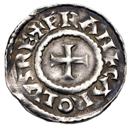 Denier - Charles III le Simple (Belgevagus) – avers