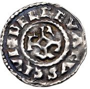 Denier - Charles III le Simple (Belgevagus) – revers
