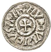 Denier - Louis I the Pious (Dax) – avers