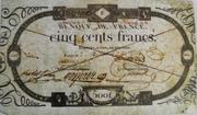 500 francs (type ancien) -  avers