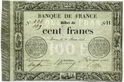 100 francs (type 1848 provisoire 1) – avers