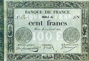 100 francs (type 1848 provisoire 2) – avers