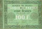 100 francs (type 1848 provisoire transposé) – avers