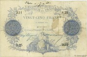 25 francs (type 1870 Paris) – avers