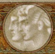 100 francs Luc Olivier Merson (type 1906 avec grands cartouches) -  avers