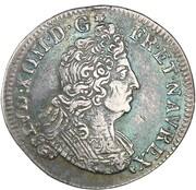 Quart d'écu aux insignes - Louis XIV -  avers
