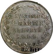 Essai de laminage du système Martin – revers