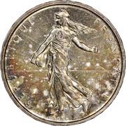 5 francs Semeuse (Argent) -  avers