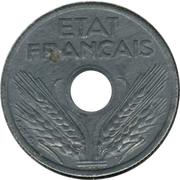 10 centimes Etat français (petit module) -  avers