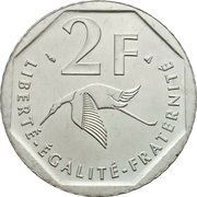 2 francs Guynemer -  revers