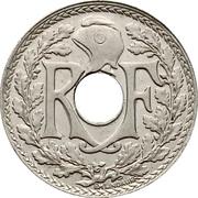 5 centimes Lindauer (Cupronickel, grand module) -  avers