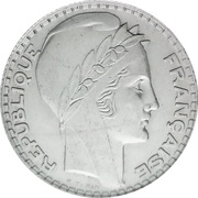 10 francs Turin (Argent) -  avers
