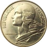 20 centimes Marianne (Cupro-aluminium) -  avers