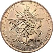 10 francs Mathieu -  avers
