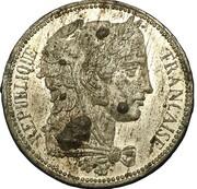 20 francs (Essai en étain de Gayrard) -  avers