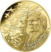 50 euros Spitfire (or) -  avers