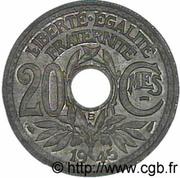 20 centimes Lindauer -  revers