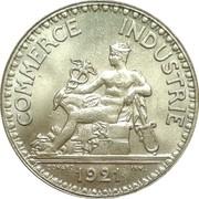 2 francs Chambres de commerce -  avers