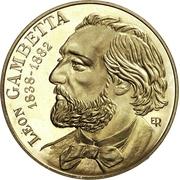 10 francs Gambetta (Piéfort cupro-nickel) -  avers