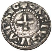 Denier - Charles II le Chauve (Nevers) – avers