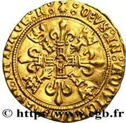 Écu d'or au soleil de Bretagne, 2e type - François 1er le restaurateur des lettres -  avers