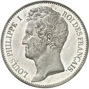 100 francs Louis Philippe I (essai de Caque) -  avers
