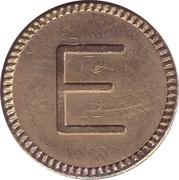 """Token """"E"""" – revers"""