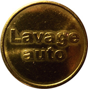 Jeton de lavage auto S.D.A. (22mm) – avers