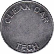 Jeton de lavage auto - Clean Car Tech – revers