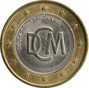 Jeton de lavage auto - DCM (bi-métallique) – revers